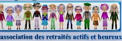BANDEAU n°4 ARCAL l' Association des retraités Actif et Heureux