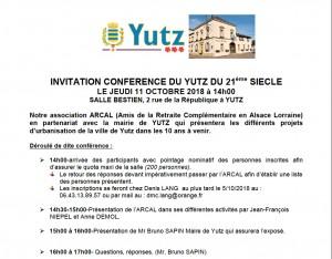 Yutz au 21° s